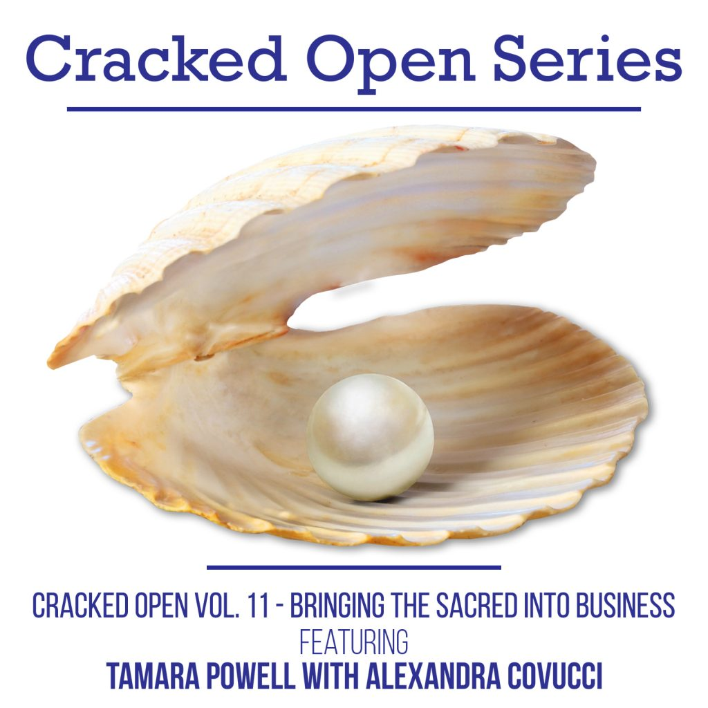 Cracked Open with Alexandra Covucci: Vol 11 – Bringing the Sacred Into Business