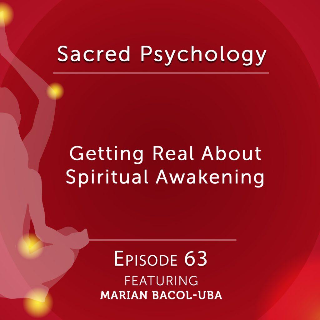 Marian Bacol-Uba on spiritual awakening
