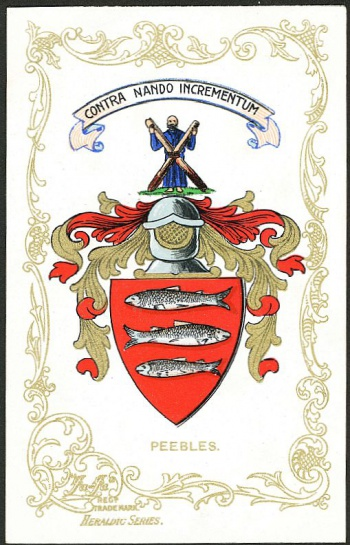 Peebles Coat of Arms
