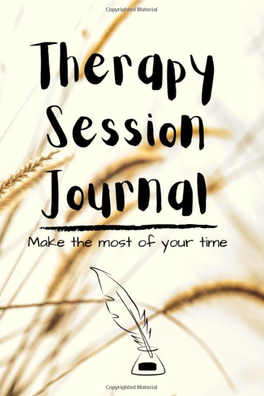 therapy journal cover