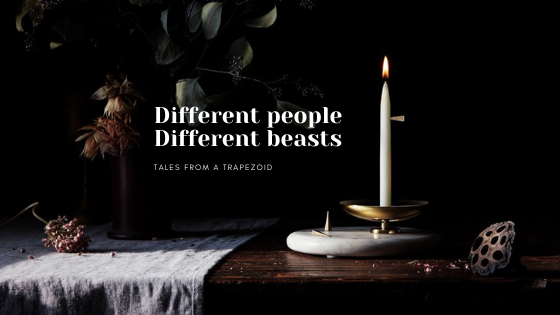 different people, different beasts